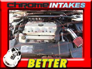 CF RED 95 1995 CADILLAC SEVILLE STS/SLS 4.6 4.6L V8 AIR INTAKE KIT