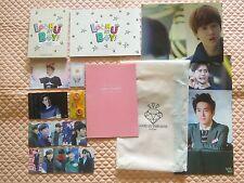 EXO-K Suho DVD Goods Set 3-Disc w/Gift Photobook K-POP EXO
