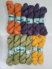 Bijou Spun Lhasa Wilderness yak/bamboo yarn, 12 skeins