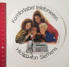 Aufkleber/Sticker: Komfortabel Telefonieren - Hicom Von Siemens (150416153)