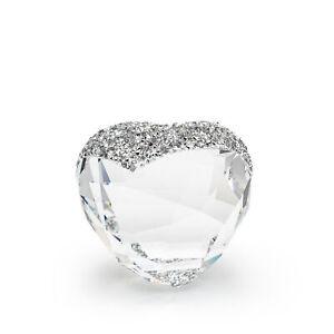 Swarovski Love Heart  1143413 Clear Swarovski Crystal Figurine