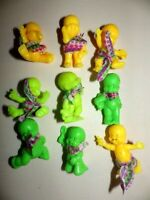 Lot de 9 figurines magic babies IDEAL el Greco PASTEL voir description.