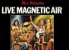MFD IN CANADA NM 1979 ROCK LP MAX WEBSTER : LIVE MAGNETIC AIR