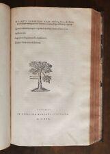 CINQUECENTINA - PLAUTUS e TERENTIUS, PARIGI, 1530 -1536 - LEGATURA COEVA - BELLI