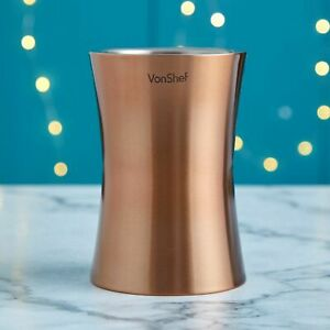 Wine Bottle Cooler Copper Stainless Steel Champagne Chiller Ice Bucket