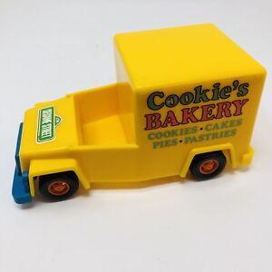 Vintage Sesame Street Cookie's Bakery Truck Cookie Monster 1976 KTC