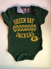 Green Bay Packers Bodysuit Infant Baby CUTE 0 - 3 Months Brand New