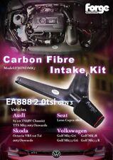 STRINGI FIBRA DI CARBONIO KIT di aspirazione per VW, AUDI, SEAT, SKODA 2.0 STI ea888 fmindmk7