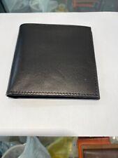 Vintage Coach Men's  Black Leather  Wallet