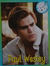 PAUL WESLEY - A4 Poster (20 x 27 cm) - The Vampire Diaries Clippings Ausland USA