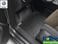 original VW TOURAN Estera par todo el año delant. Alfombrillas de goma alfombras