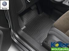 Original VW Touran Allwettermatten vorne Gummimatten Gummifußmatten schwarz