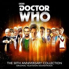 Doctor Who 50th Anniversary Collection - 4 DISC SET - Various Ar (2013, CD NEUF)