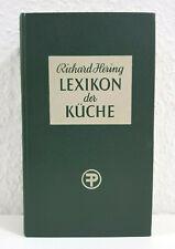 R. Hering Lexikon der Küche hervorragendes Nachschlagewerk der klassischen Küche