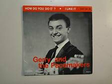 "GERRY & THE PACEMAKERS: How Do You Do It? +3-France 7"" Columbia ESDF 1490 EP PCV"