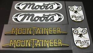 Moots Mountaineer Bicycle Decal Set (sku 10788)