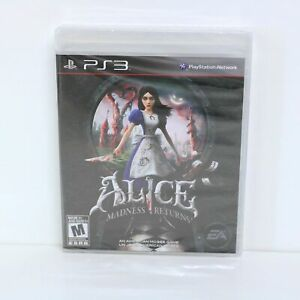 Alice - Madness Returns - Sony Playstation 3 PS3 Game - New & Sealed