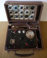 Rare:  superbe lampemetre vintage marque Lafayette CT à restaurer