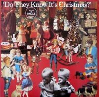 "Band Aid Do they know it's christmas? (1984) [Maxi 12""]"