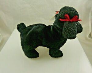 Ty GiGi bday April 7, 1997 black poodle beanie babies