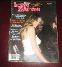 APRIL 1982 Easy Riders IRON HORSE MAGAZINE back issue Sexy Biker Women VG+