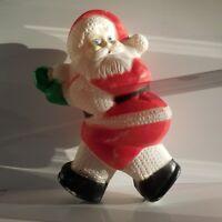 Père Noël vintage plastique art-déco intérieur extérieur design XXe PN France