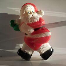 Père Noël vintage plastique art-déco intérieur extérieur France