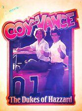 80's Dukes of Hazzard Coy Vance Dodge Charger mopar Tv Show VTG t-shirt iron-on