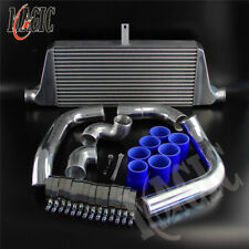 For Toyota Chaser Mark II JZX100 JZX90 FMIC Front Mount Intercooler Kit Blue