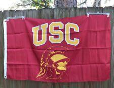 "USC University of S. Carolina Trojans 63"" x 36"" Flag Banner College Souvenir"