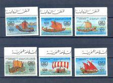 Libya ships 1983  MNH