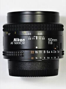 ** MINT ** Nikon AF-NIKKOR 50mm F1.8 For F3 FM2 FE2 D700 FA D750 D700 D800