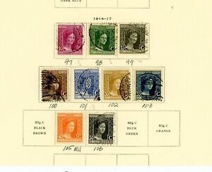 Luxembourg outstanding selection of 92 MH/Used Stamps - Nice