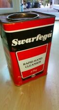 Vintage 1980 Swarfega Rapid Hand Cleanser In Tin 4.5kg / OIL CANS