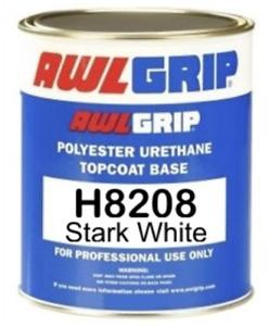 Awlgrip Premium Polyester Urethane Topcoat Stark White Gallon H8208/1GLUS