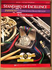 Standard Of Excellence Enhanced Book 1 - Tenor Saxophone