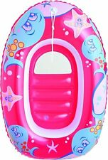 "Childs inflatable boat 40"" x 27"" in choice of colour - beach toyy green"
