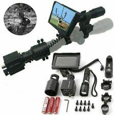 Nachtsichtgerät für Zielfernrohr IR Torch Display Screen Night Vision Jagd Sport