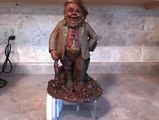 Tom Clark Gnome Hyke Retired Dated 1984 #50 Coa Very Good Condition