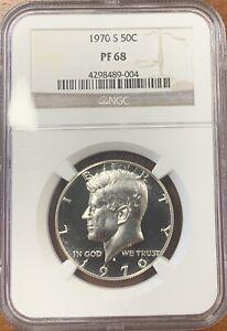 1970-S Kennedy Half Dollar NGC PF68*Looks Cameo*