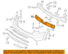 KIA OEM 12-13 Sorento Bumper Face-Foam Impact Absorber Bar 866201U210