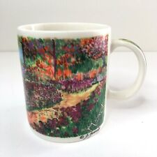 J Burrows The Museum Company Monet's Gardens at Giverny Coffee Mug Cup NEW