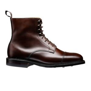 Women's Bespoke Handmade MARCHING Boots,Formal Brown Genuine Leather Boots