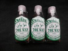 3 x 30 ml Glass Bottles Leech Oil Minyak Lintah Improves Blood Flow,Enlargement
