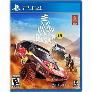 Dakar 18 Sony PS4 Rally Simulator Racing Sim Game Playstation 4