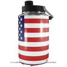 Skin Wrap for Yeti 1 Gallon Jug Usa American Flag 01