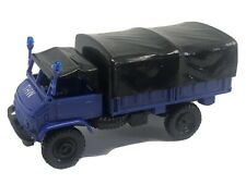 "Roco 1313 HO 1/87 Mercedes Unimog S Truck ""THW"" in Presentation Box"