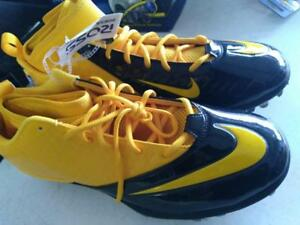 534994-725 Men's New ARCH BEAM PROPULSION SUPERBAD Football Cleats YELLOW JACKET