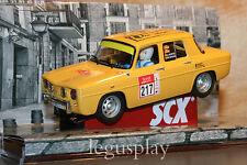 "Slot SCX Scalextric 63800 Renault 8 TS ""5ª Fira Vic Slot Classic""  Yellow - New"
