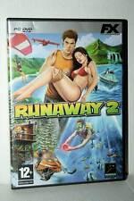 RUNAWAY 2 GIOCO USATO OTTIMO STATO PC DVD VERSIONE ITALIANA RS2 40629